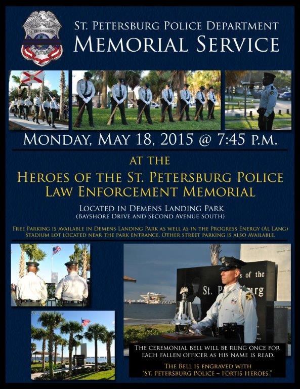 2015 Memorial Service Flyer